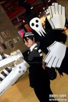 Death the Kid/Shinigami sama - Expocomic 2013 by Albitxito