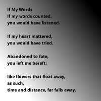 If My Words by Hugabouv
