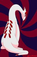 Shiny Lugia by VibrantEchoes