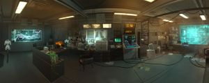 Deus Ex HR pano01 by MichaWha