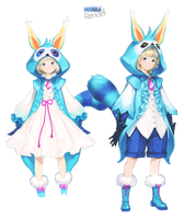 Render 011 - Aion rabbits by Soihra