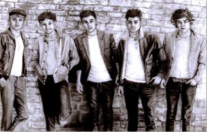 One Direction by SophieReddyArt