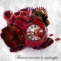 Thirteen minutes to midnight by ShadowSide-Designs