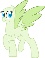 MLP Base: Look at mah huge af wingz by yaribases