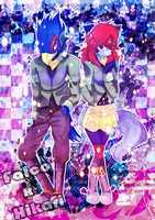 ComPoint: Falco and Hikari by DeathNoteNiky04