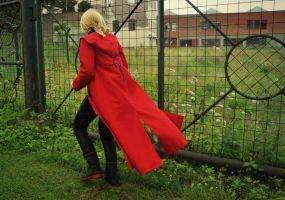 Edward Elric - I walk alone by aggestardust