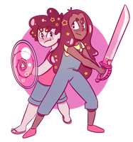 steven and connie by SleepySeaSlug