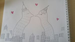 A Skyscraping Love by GraceAnneDraws