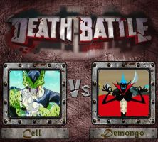 Cell vs Demongo Death battle by Energywitch