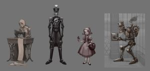 Puppet concepts by Okha