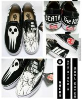 Death The Kid shoes by gamerma