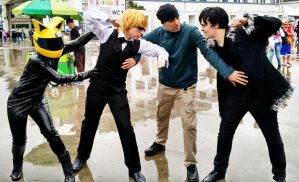 Durarara!! Group Cosplay by LitYousei