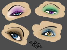 Small Eyes Practice by RitheGuardian