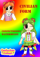 SOLD - Confectionist Watermelon by Llama-lady