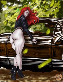 Muscle Car contest_01 by Grizzlydafurry