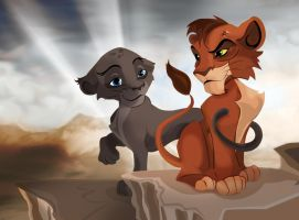 Kovu's Son by TheGreenRabbit