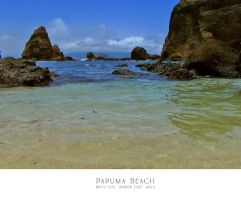 Papuma Beach by rizalcuk