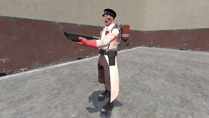 The Red Medic by coverop