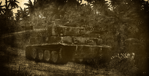 Tiger Tanks on the Battlefield by BillyM12345