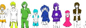 Kagerou Project Rainbow by Dayrili
