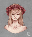 Christa Renz by BlossomingMay