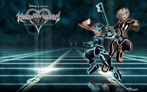 Kingdom Hearts 3D : Dream Drop Distance Wallpaper by MonstaKidd