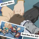 YuGiOh 5Ds Wallpaper: ~All For One~ by XxXxRedRosexXxX