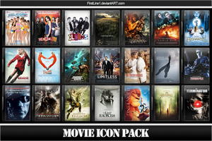 Movie Icon Pack 36 by FirstLine1
