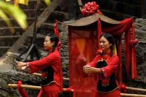 Traditional Chinese scene 1 by wildplaces