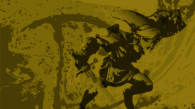 Grungy Link Wallpaper by ImpersonatingPanda