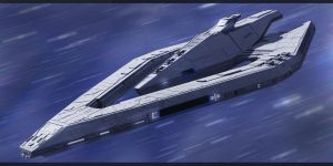 Star Wars Imperial Star Destroyer by AdamKop
