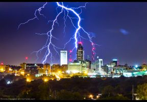 Omaha Electrified by FramedByNature