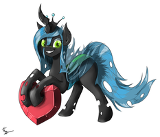 Queen Chrysalis by Xael-Alex