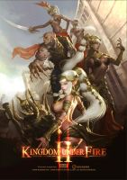 Promotion Artwork for Kingdom Under Fire2 by Gpzang