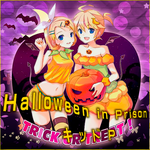 Kagamine Rin and Len - Halloween in Prison by Vocalmaker