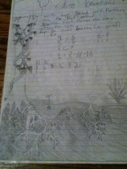 Roots and Math Doodle by BoQu1shaCaeruelus