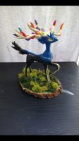 Xerneas clay sculpture by KatiesClayCreatures