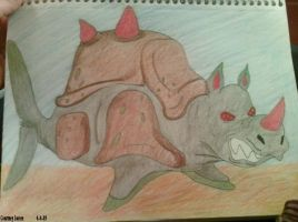 Sea Rhino by quart--knee