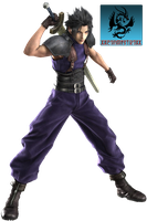 Zack FFVII Render by CartoonPerson