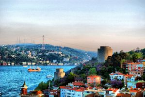 Rumeli Castle_hdr by grafikerkartal