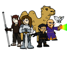 Dungeon Crawling Dragonslayers by Neopolis