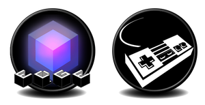 EDGE and Console Games Icons by gigobyte98