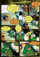 Scaredy Comic 1- Button Comes to Visit by GazTV-inc