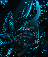 Locketcat commission repost from old account. by CyanLights