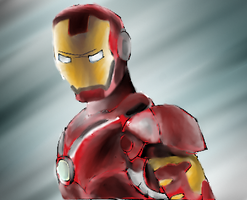 Iron Man by sarahthemerp