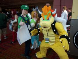 CTcon '12 - Luigi and Bowser by TEi-Has-Pants