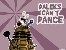 Daleks Can't Dance by Encelia