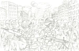 The last stand (WIP) by NDTwoFives