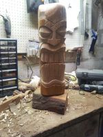 Tiki - Giant Maple - WIP by jbensch