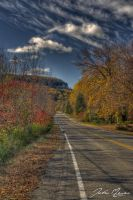 Fall Road by JohnMeyer
